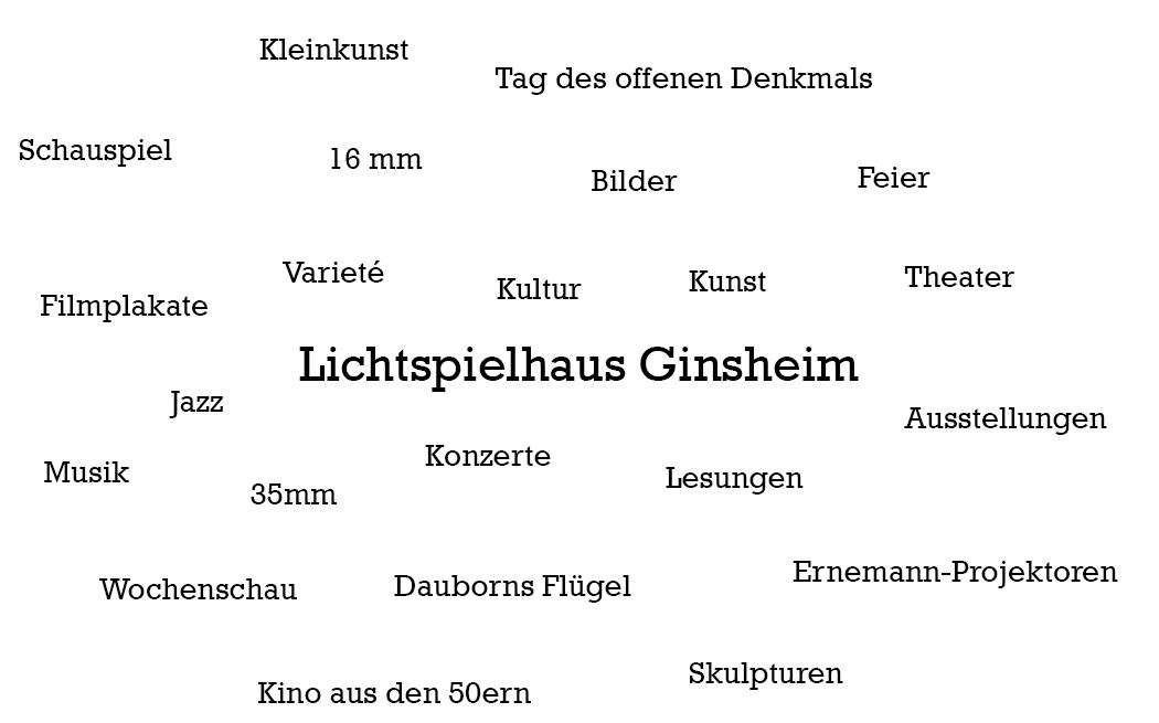 Lichtspielhaus Ginsheim Tagcloud